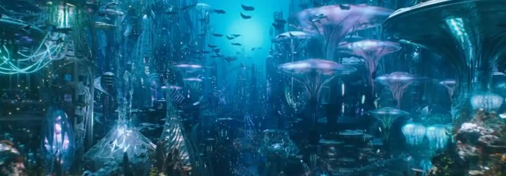 正义联盟《海王》预告发布,海底景色似仙境
