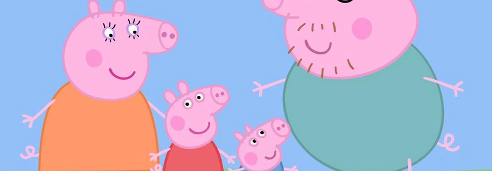 《小猪佩奇过大年》:给孩子的大爱点赞